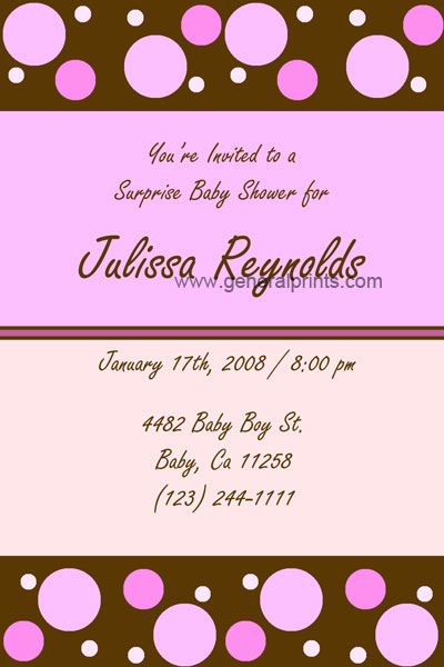 Excellent Girl Baby Shower Invitation Ideas 400 x 600 · 45 kB · jpeg