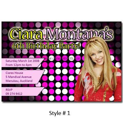 Free Printable Hannah Montana Birthday Pictures 87