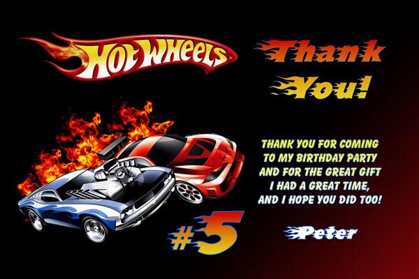 Hot Wheels Birthday Invitation is best invitations template