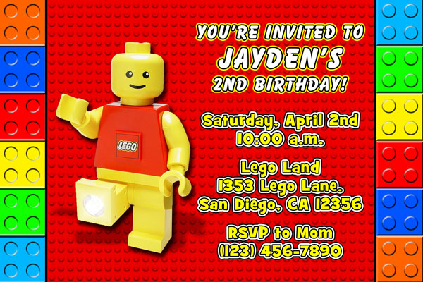 Minecraft Birthday Invitation Template with amazing invitation layout