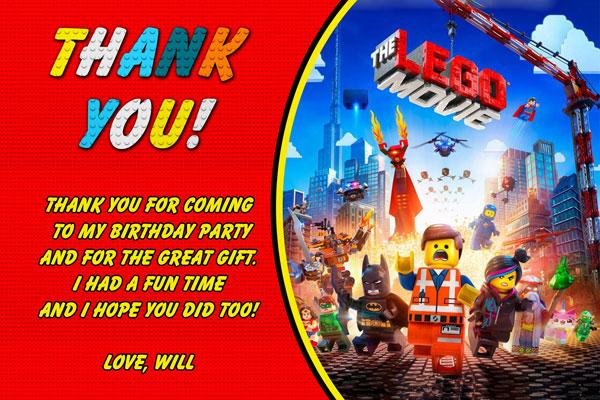 Lego Movie Invitations - General Prints
