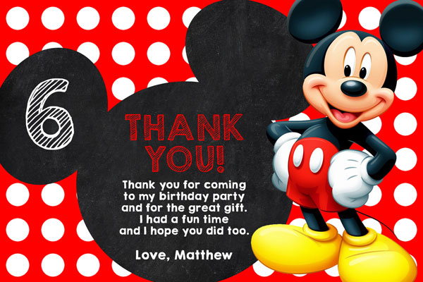 printable minnie mouse thank yous | just b.CAUSE