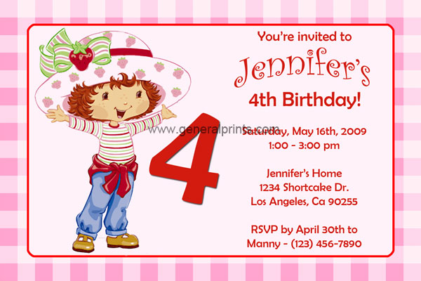 Incredible Strawberry Shortcake Invitations Printable 600 x 400 · 68 kB · jpeg