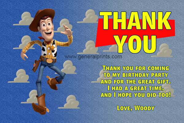 Woody Thank You