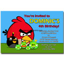 angry birds birthday party invitations printable