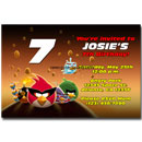 angry birds space invitations
