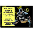 custom batman invitations
