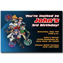 custom beyblade invitations