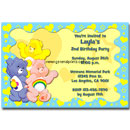 Care Bears invitations