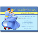 personalized cinderella invites