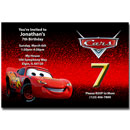 personalized disney's cars invitations