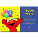 Elmo Thank You