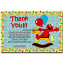 baby elmo thank you card