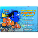 personalized finding nemo invitations