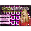 printable hannah montana invitations