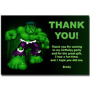 incredible hulk thank you card