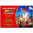 lego movie invitations