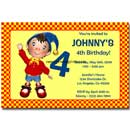 personalized noddy invitations
