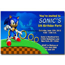 sonic the hedgehog invitations printable