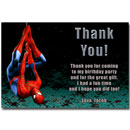 printable spider-man thank you card
