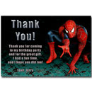 spiderman thank you cards