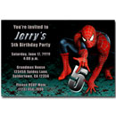 printable spiderman invitations