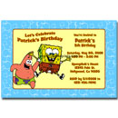 personalized spongebob squarepants invitations