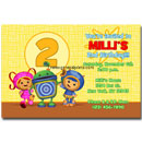 team umizoomi invitations party