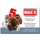 The Secret Life of Pets Invitations