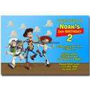 toy story printable invitations