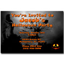Printable Creepy Halloween Invitations